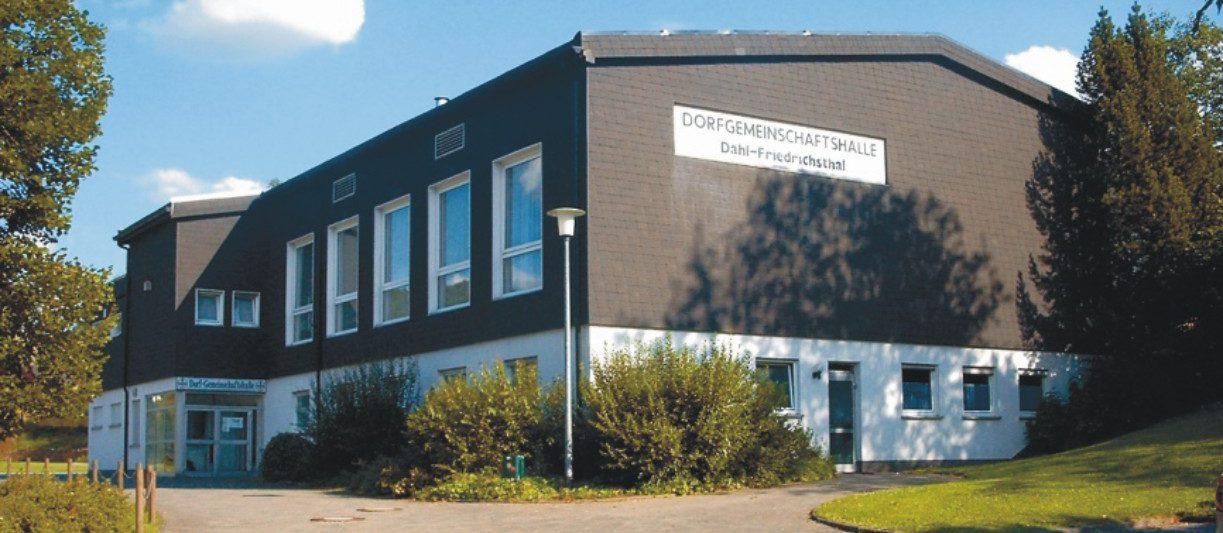 Dorfgemeinschaftshalle Dahl-Friedrichsthal